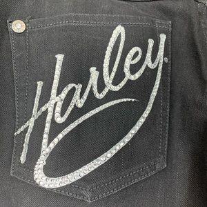Harley-Davidson Embellished Bootcut Jeans